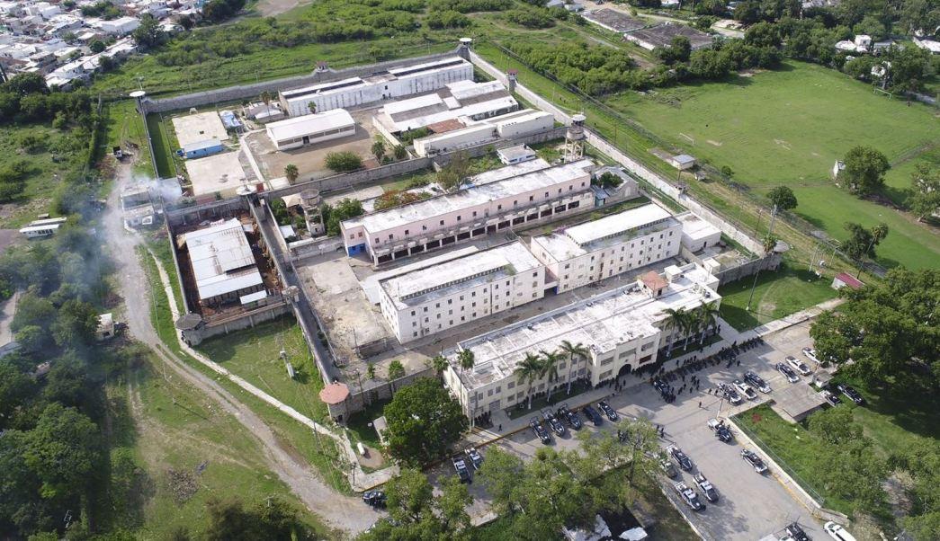 Aspectos de penal de Ciudad Victoria, Tamaulipas, cárcel de ciudad victoria