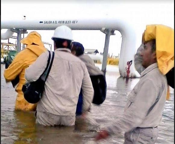 Inundación, refinería, Salina Cruz, Oaxaca, Calvin, Clima