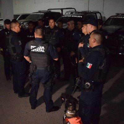Decomisan arsenal y vehículos robados en Nogales, Sonora