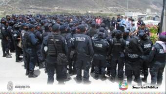Policias, Guerrero, Paro laboral, Liquidacion de policias,