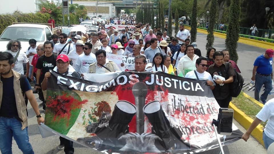 Protestan, Chilpancingo, Violencia, Periodistas, Violencia contra periodistas