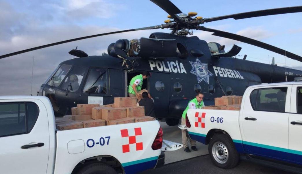 Entre las comunidades a las que se hará llegar la ayuda se encuentran San Mateo Piñas, San Juan Ozolotepec y San Marcial Ozolotepec (Gobierno de Oaxaca)