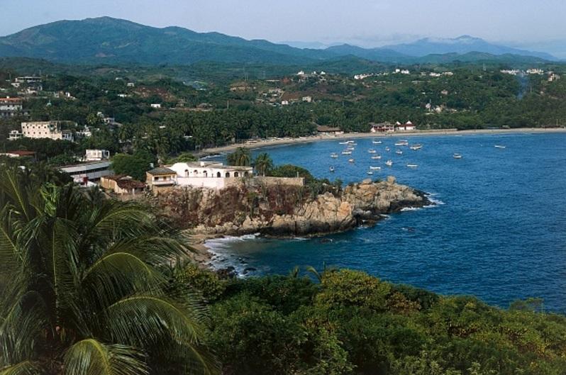 Costas de Puerto Escondido, Oaxaca (Getty Images /archivo)