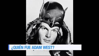 Quién, fue, Adam, West, actor, primer batman