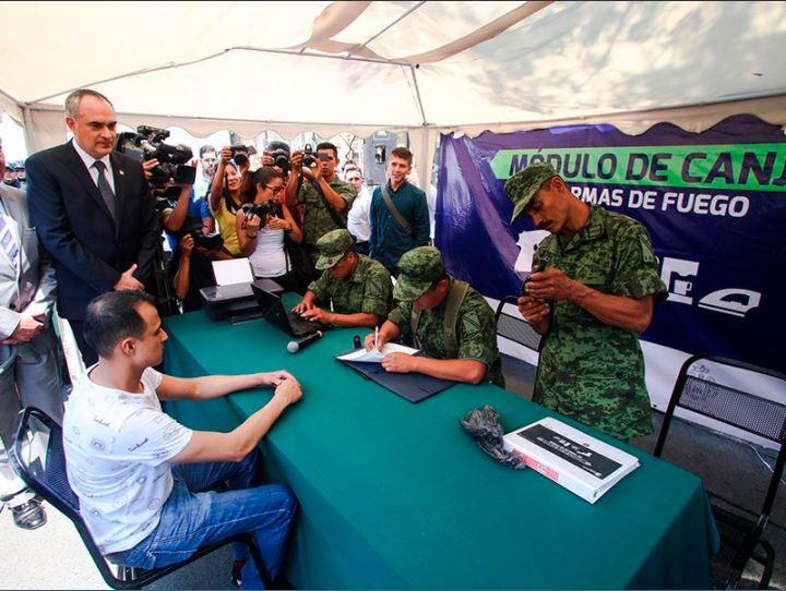 Militares acopian armas en Guadalajara jalisco