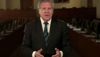 El secretario General de la OEA, Luis Almagro (Twitter: @Almagro_OEA2015)