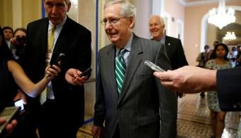 El líder republicano del Senado de Estados Unidos, Mitch McConnell (Reuters)