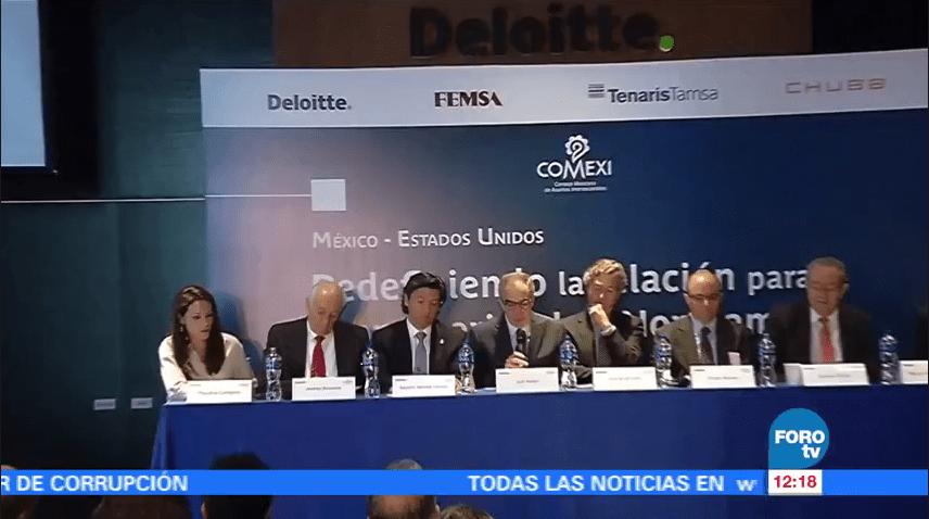Integrantes del Comexi presentan una propuesta para redefinir la relación México-EU