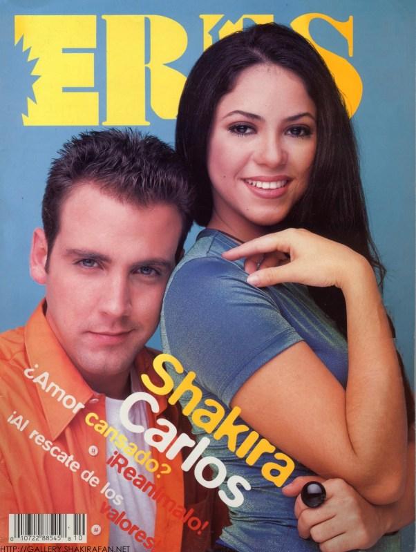 Revista Eres, portada, Carlos Ponce, shakira, revista