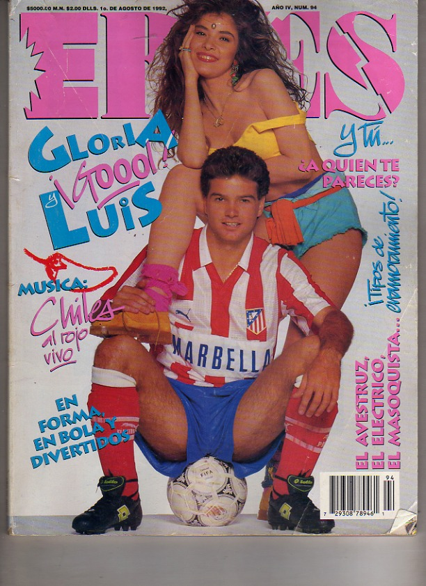 Revista Eres, Luis García, Gloria Trevi, portada, publicación