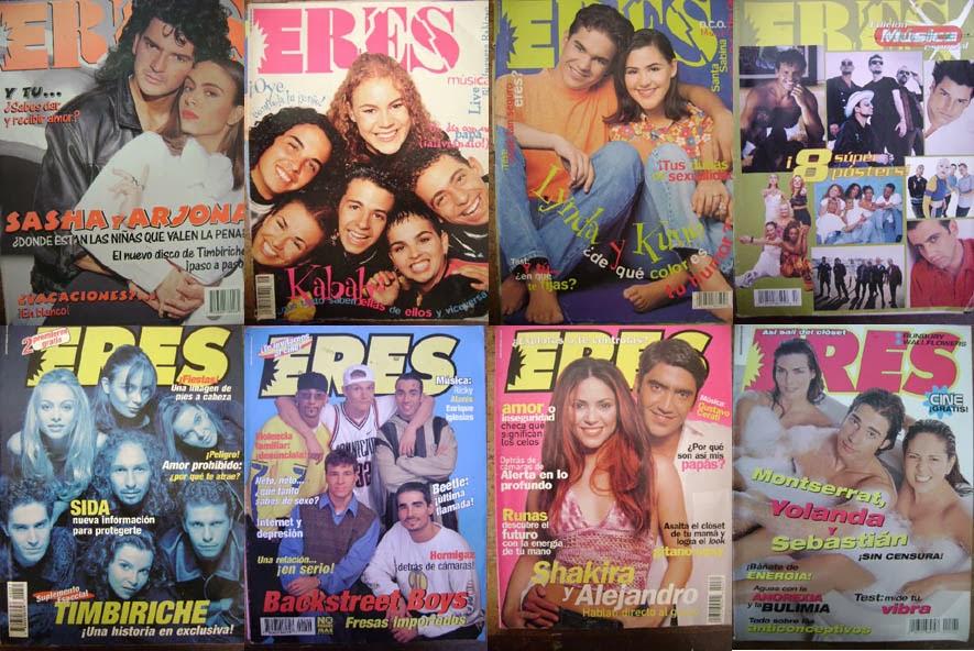 Revista Eres, revistas, Eres, collage, publicación