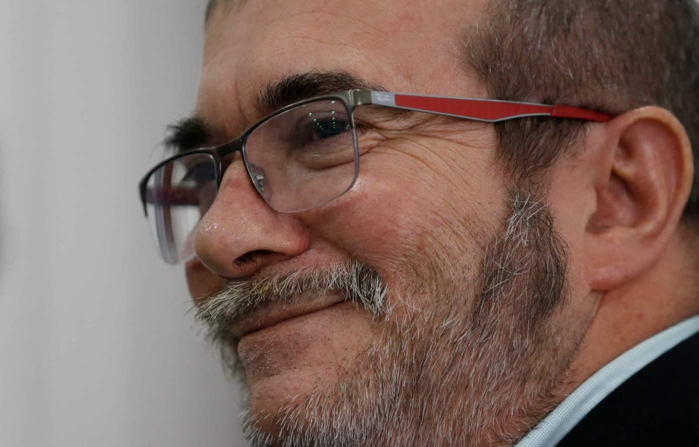 Rodrigo Londoño, líder de las FARC