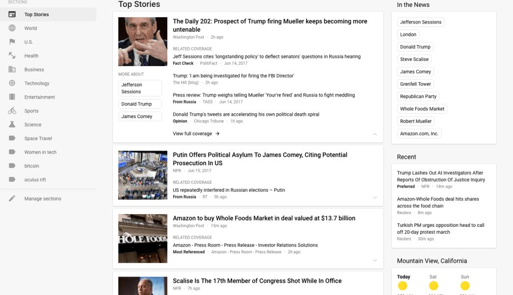 Google Noticias se actualiza