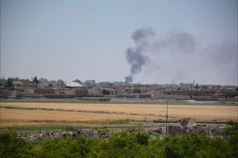 fuerzas kurdas avanzan sobre raqa
