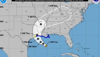 se forma tormenta tropical cindy