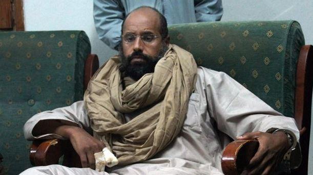Liberan a hijo de Gadafi después de cinco años detenido