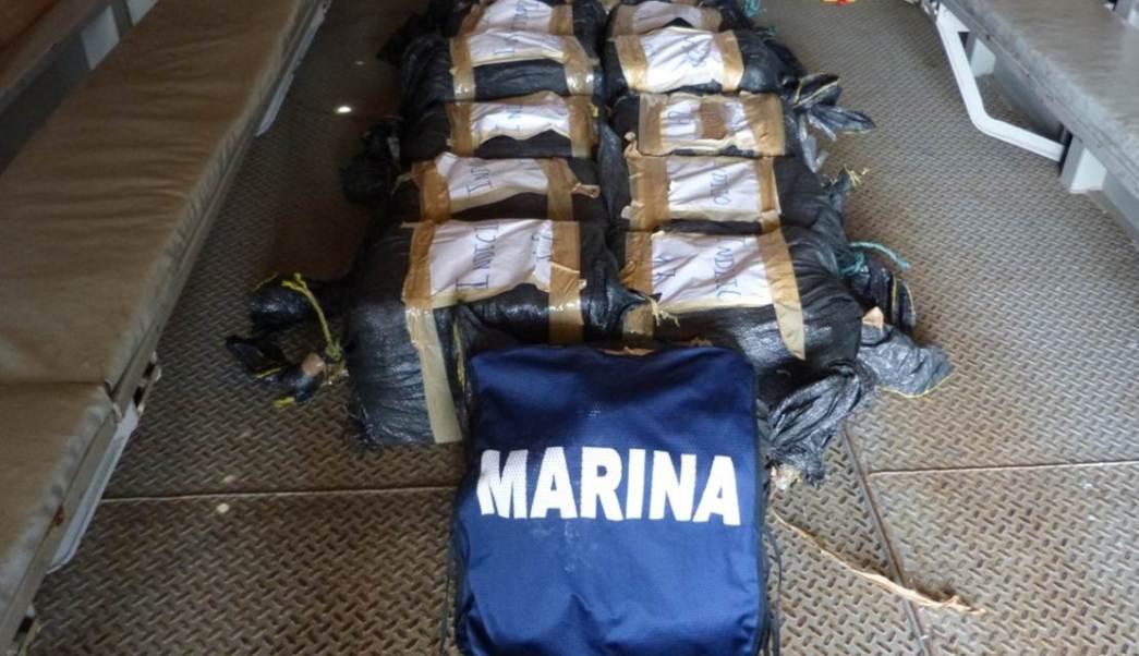 Semar decomisa cocaína en Puerto Chiapas