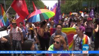 incidentes, marcha, orgullo gay, CDMX, crónica, marcha gay