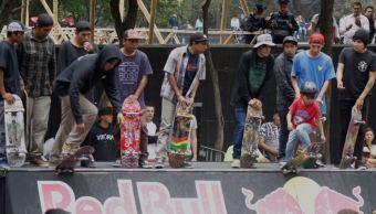 Aficionados, Skateboard, Monumento, Revolución, Deporte, Patinetas, Concurso