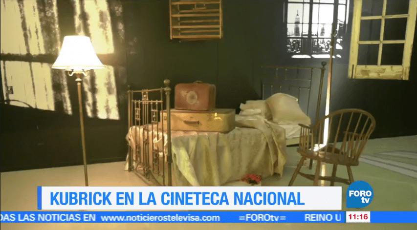 Sofía Escobosa, exposición de Kubrick, Cineteca Nacional, reportaje