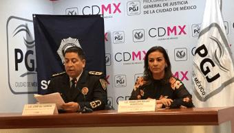 Los funcionarios de la SSP-CDMX informó que entre los implicados se encuentra un menor de edad