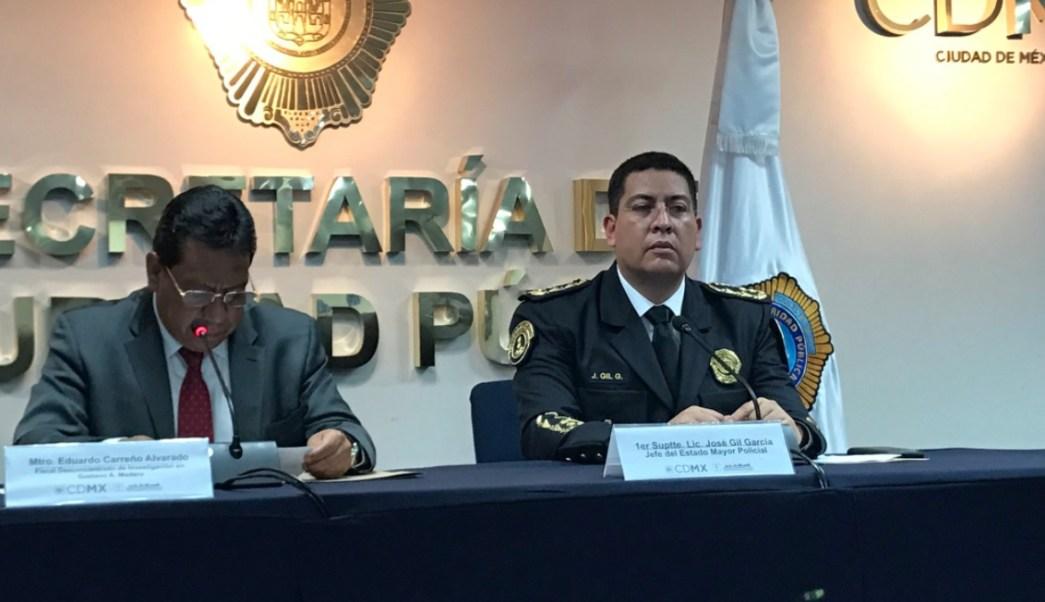 Autoridades capitalinas informaron que el motivo del homicidio fue una rencilla personal. (Twitter: @SSP_CDMX)
