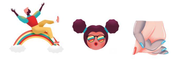 stickers, allo, marcha, Orgullo Gay