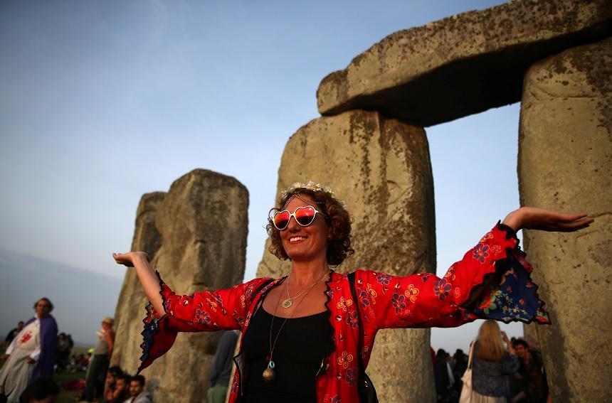 """Stonehenge, también llamado """"El Templo del Sol"""", tiene unos 5 mil años de antigüedad (Reuters)"""