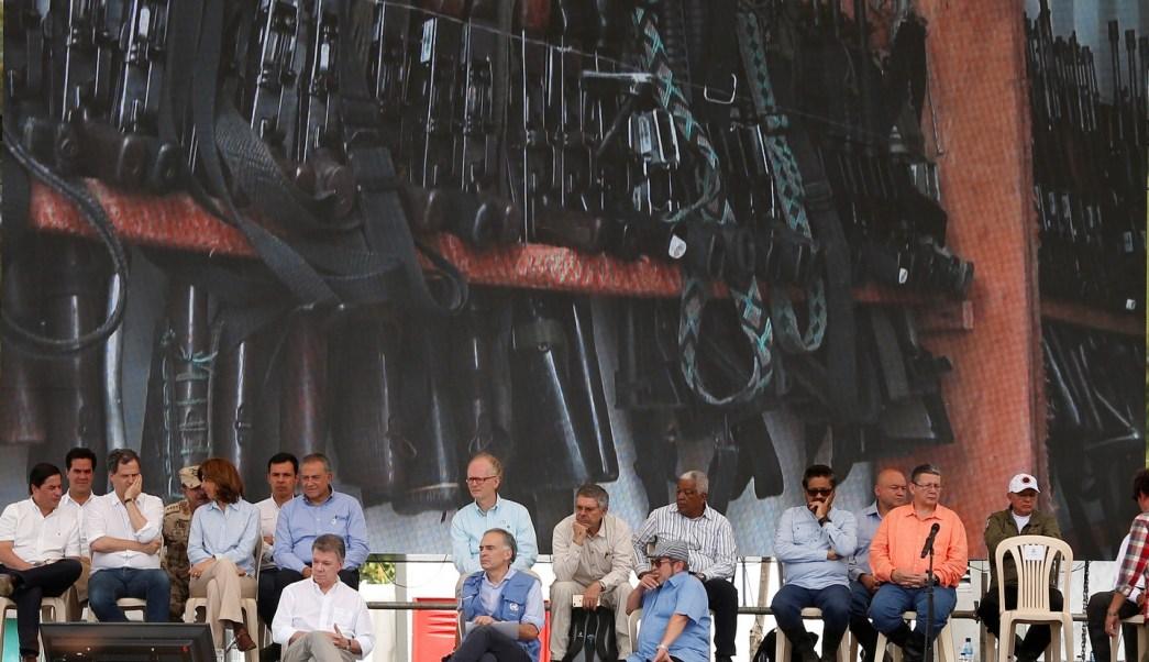 Suman más de 50 mil armas entregadas por las FARC
