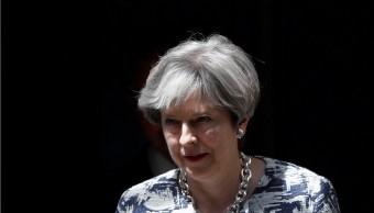 Theresa May habla sobre la residencia de los europeos