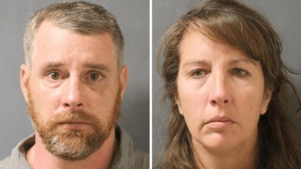 Therry Thompson y su esposa Chauna se entregaron a las autoridades