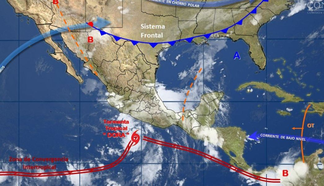 Huracanes, Protección civil, Fenomenos naturales, Lluvias, Noticias, Noticieros televisa