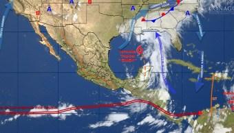 Cindy, Lluvias, Yucatan, Campeche, Lluvias, Clima, Tormenta tropical