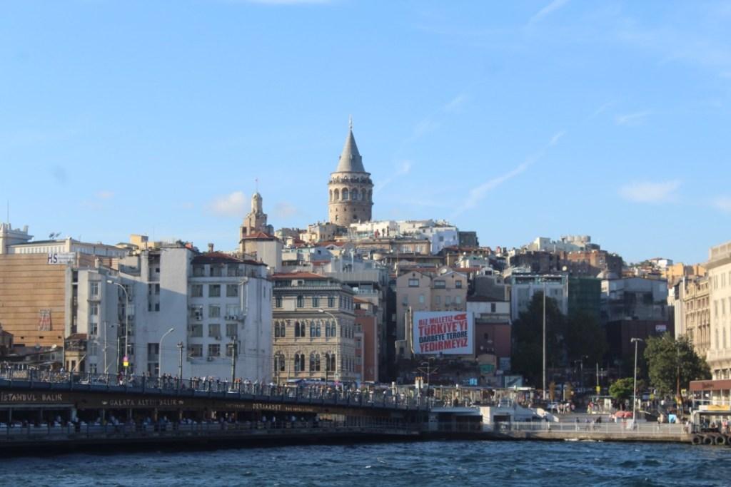 La torre de Gálata, Estambul, Turquía