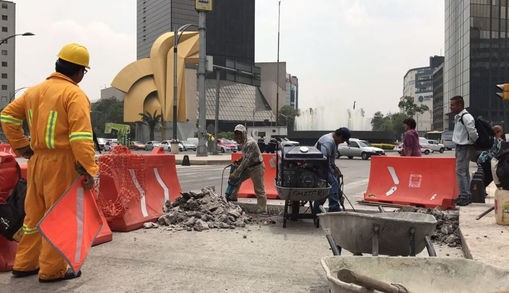 Secretaría de Obras, Ciudad de México, construcción, Línea 7, Metrobús