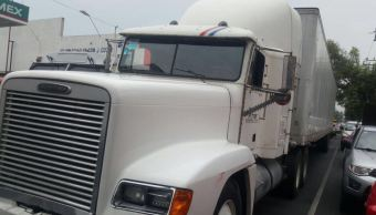 trailer robado, leche, robo, delincuencia, ciudad de méxico