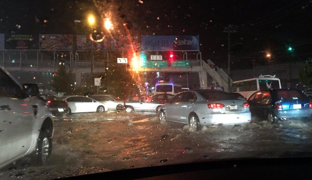 Clima, Morelia, Michoacán, lluvia, tromba, 20 colonias