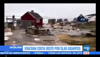 Tsunami, Groelandia, personas, desaparecidas, olas, gigantes
