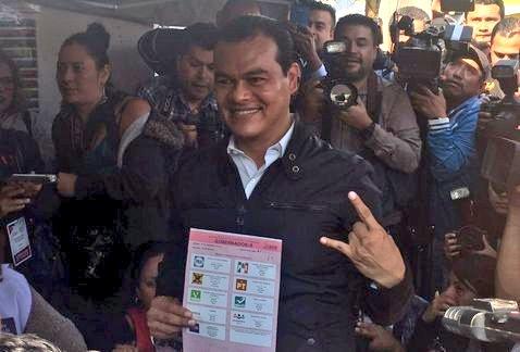 Vota Juan Zepeda en Nezahualcóyotl