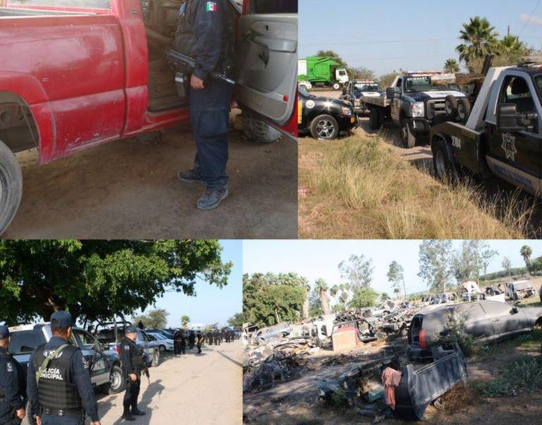 Autos robados, Sinaloa, Yonke, Estados, Noticieros televisa, Forotv