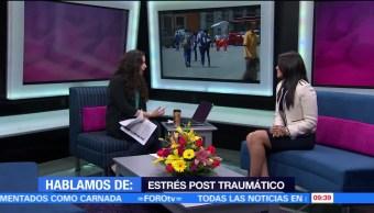 Estrés postraumático, caso Anthony, Erika Pavón, psicóloga