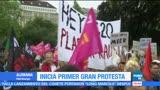 Hamburgo, Alemania, primera gran protesta, cumbre del G20