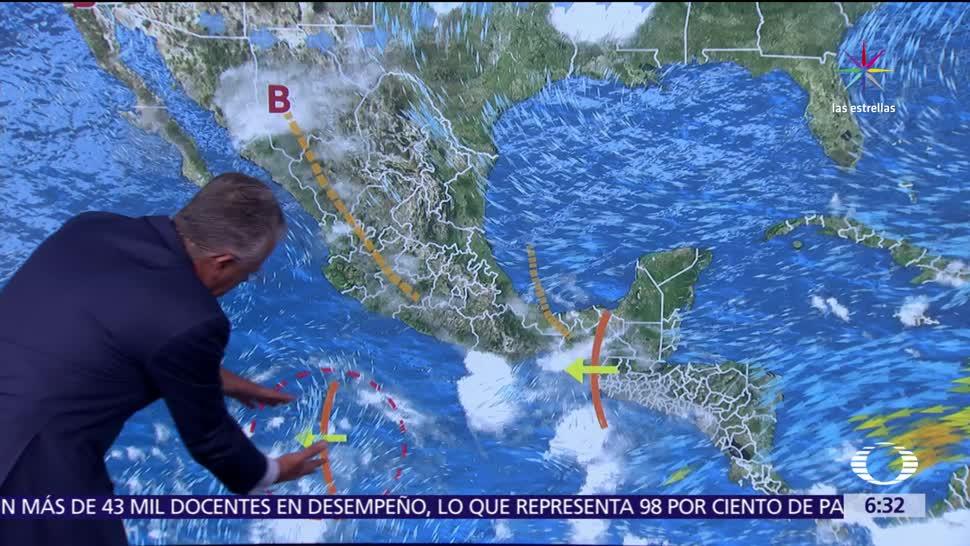 onda tropical, sureste de México, tormentas, intensas