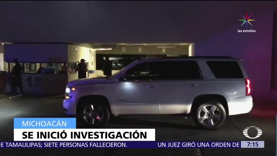 Asesinan, Rogelio Arredondo, director de Investigación, Fiscalía Regional de Michoacán, hombre armados