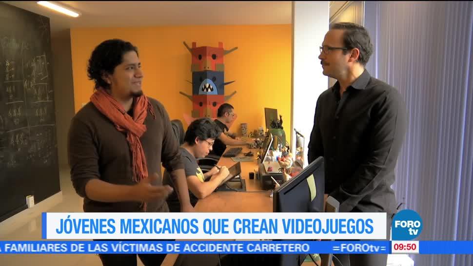 Ulises de la Torre, ímpetu, jóvenes mexicanos, creadores de videojuegos