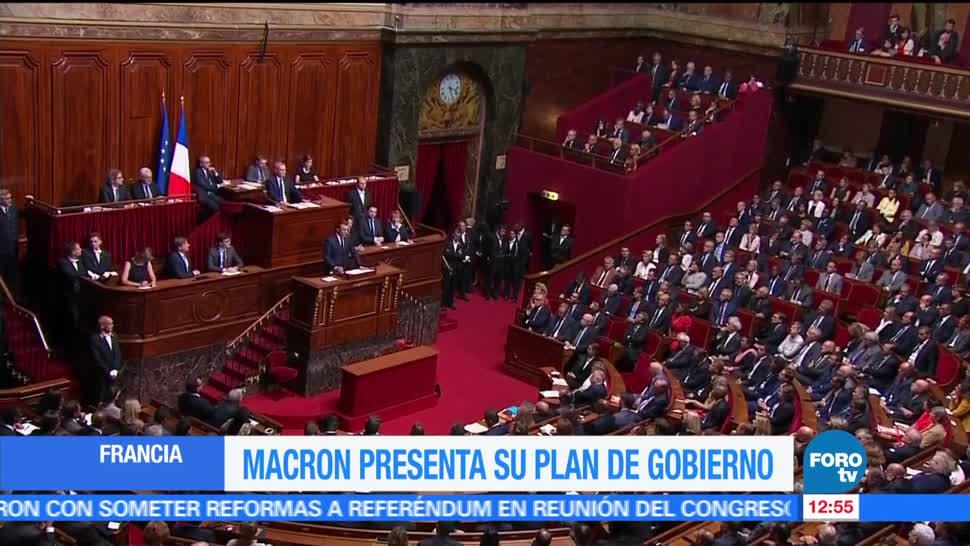 presidente de Francia, Emmanuel Macron, legisladores, Francia