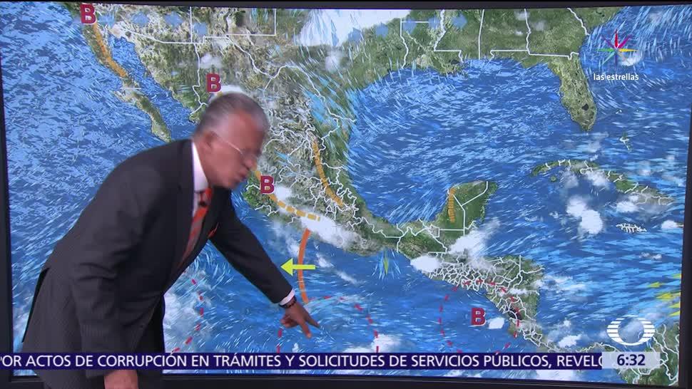 onda tropical, canal de baja presión, baja presión, tormentas, Guerrero