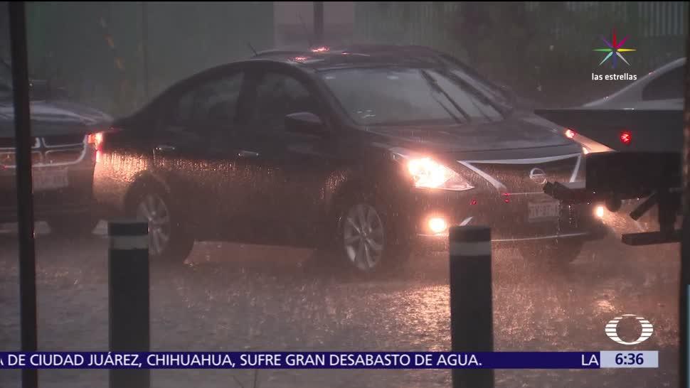 Lluvias intensas, CMDX, colonias, Santa Bárbara, La Palma