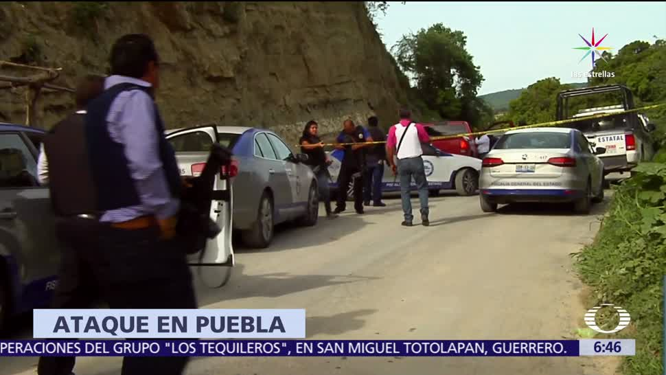 Asesinan a personas, Huehuetlán El Grande, Puebla, crimen, extorsiones, robo de combustible