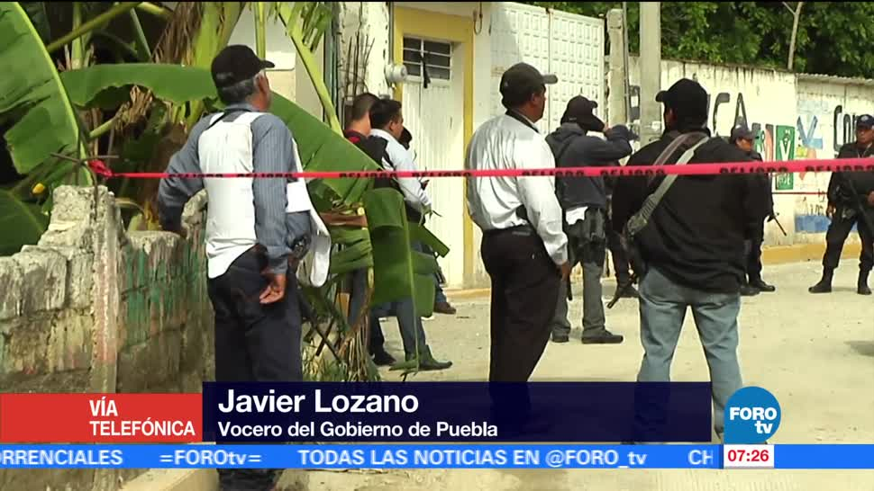 Javier Lozano, gobierno de Puebla, Huehuetlán El Grande, asesinadas